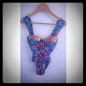 Gottex Flower One Piece Bathing Suits Swim